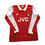Camiseta Arsenal Primera Manga Larga Retro 1994-1996