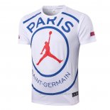 Camiseta de Entrenamiento Paris Saint-Germain Jordan 2020-2021 Blanco