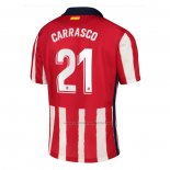 Camiseta Atletico Madrid Jugador Carrasco Primera 2020-2021