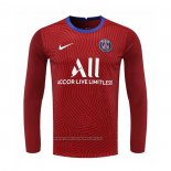 Camiseta Paris Saint-Germain Portero Manga Larga 2020-2021 Rojo