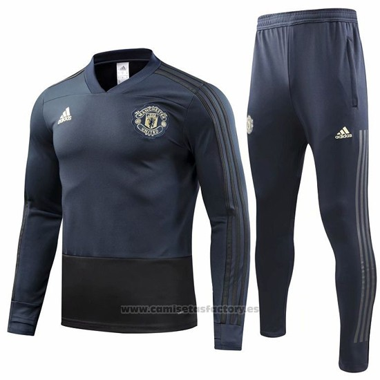 Chandal del Manchester United 2018-2019 Gris